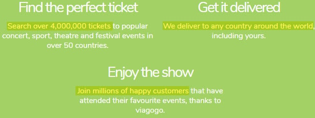 is viagogo legit tickets events 50 countries