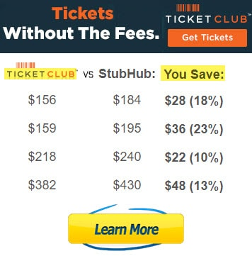 ticketclub vs stubhub tickets reviews legit savings