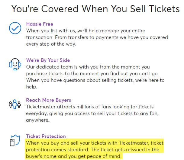 ticketmaster reviews ticket exchange resale buy sell