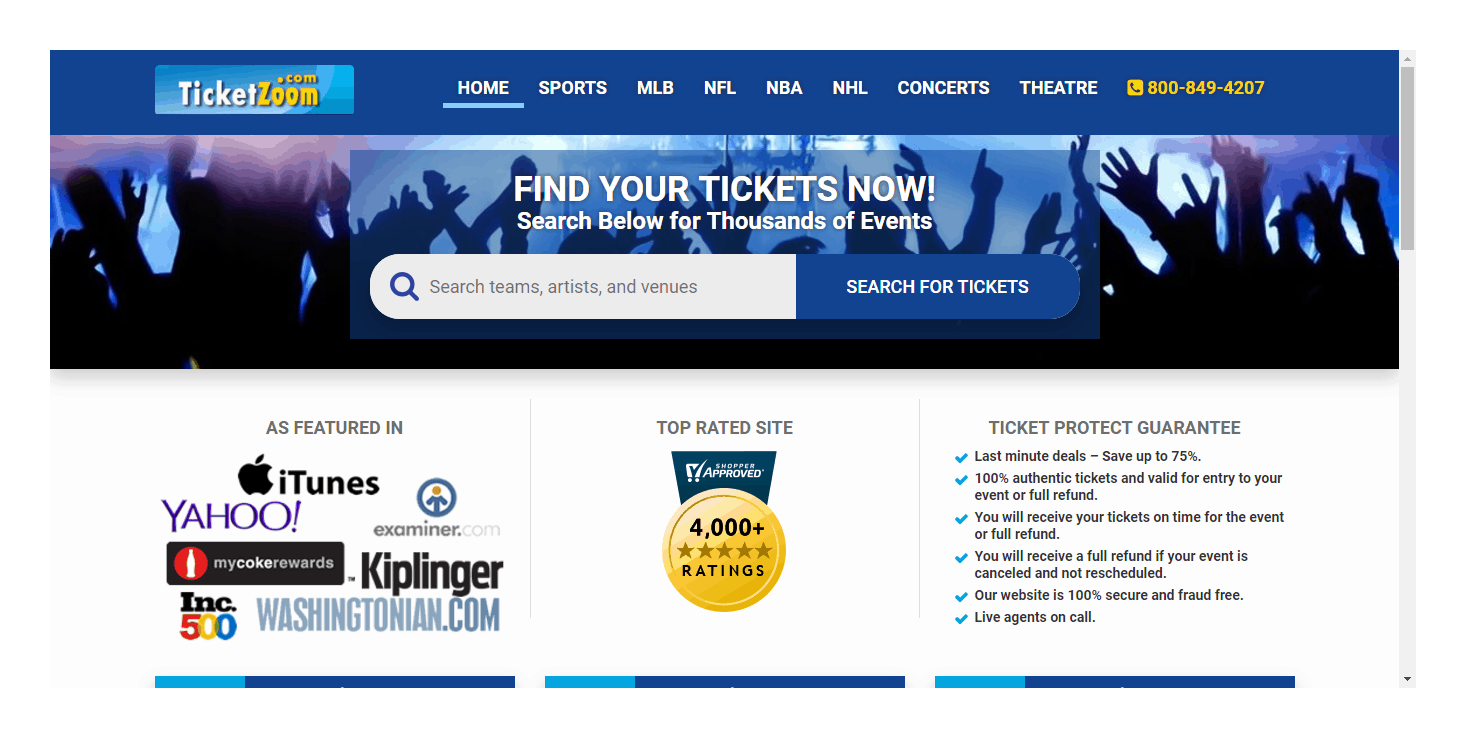 TicketZoom Reviews 2019 | Is TicketZoom Safe & Legit Site?