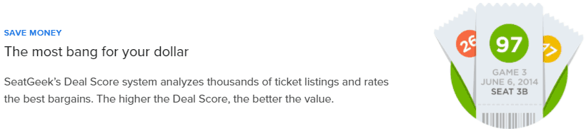 Seatgeek Reviews Save Money Deal Score System2