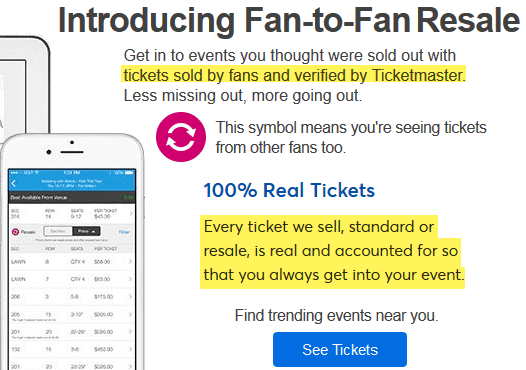 aceticket vs ticketmaster exchange review 2020 site