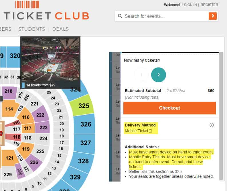 ticketclub reviews 2020 is legit mobile delivery tickets