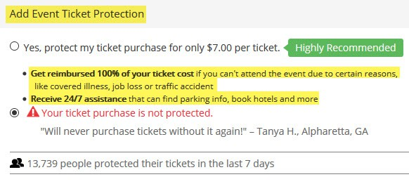 is good seat tickets safe website protection