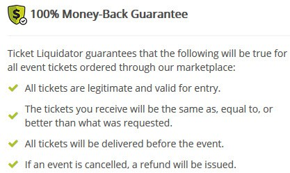 is ticket liquidator legitimate safe