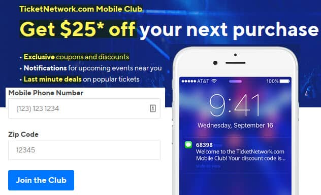 ticket network review 2020 savings mobile club