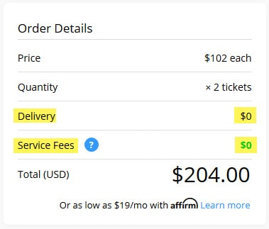 any-extra-delivery-fees-with-tickpick